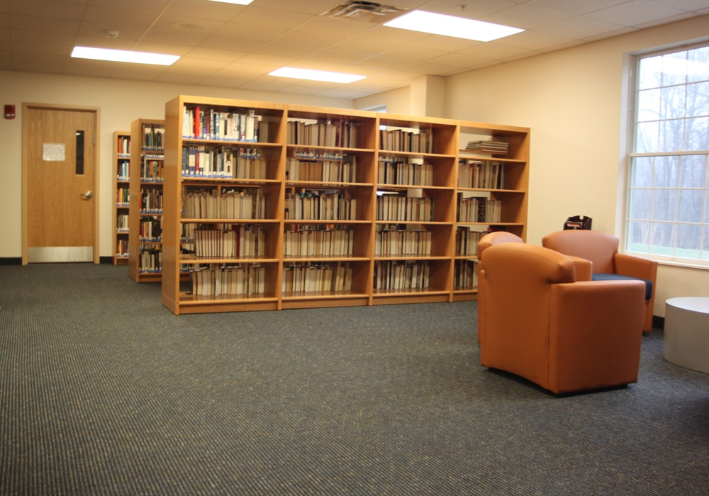 School library Carpet by Dalene Flooring