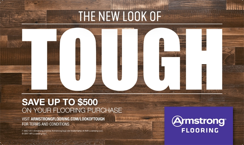 Armstrong New Look of Tough Sale