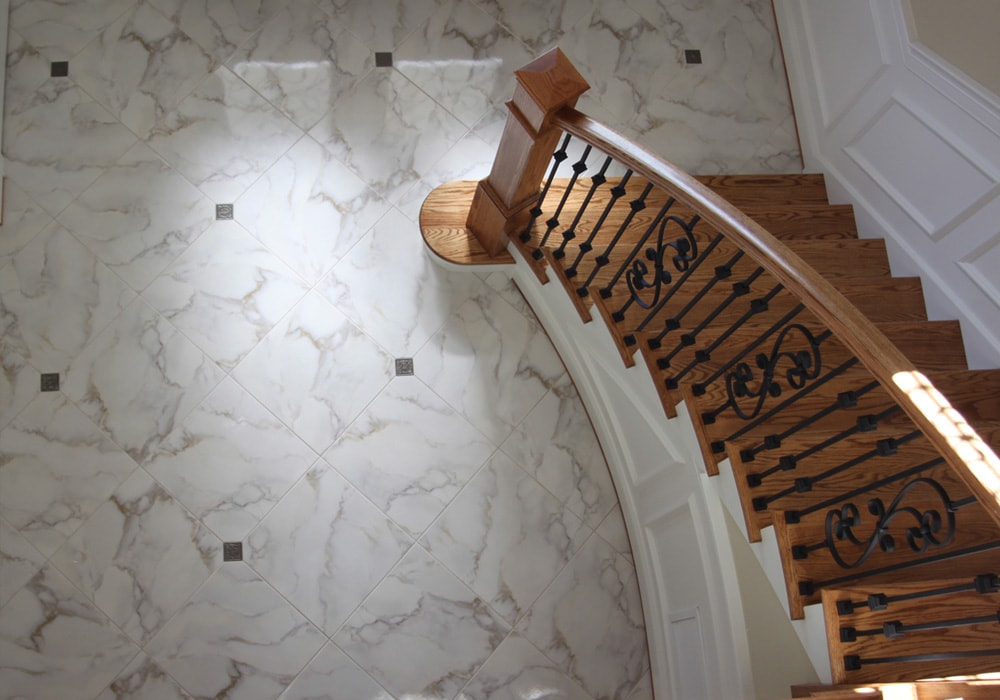Tile_o; Calcatta Gold Marble Floor ...
