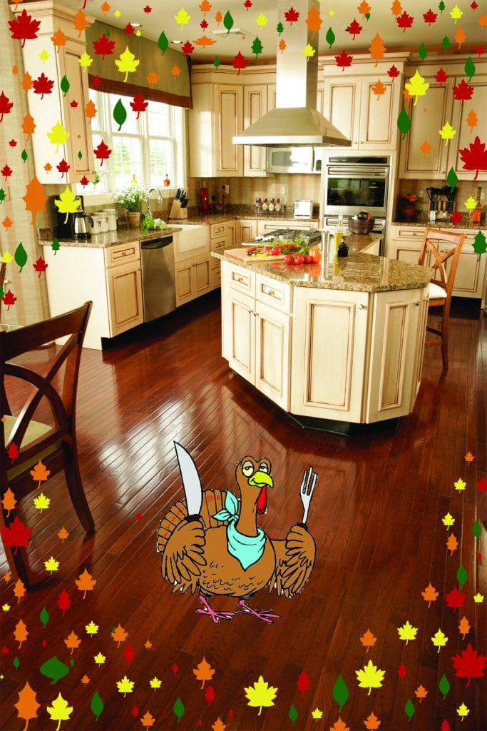 thanksgiving day - flooring