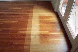 UV Damaged Floor