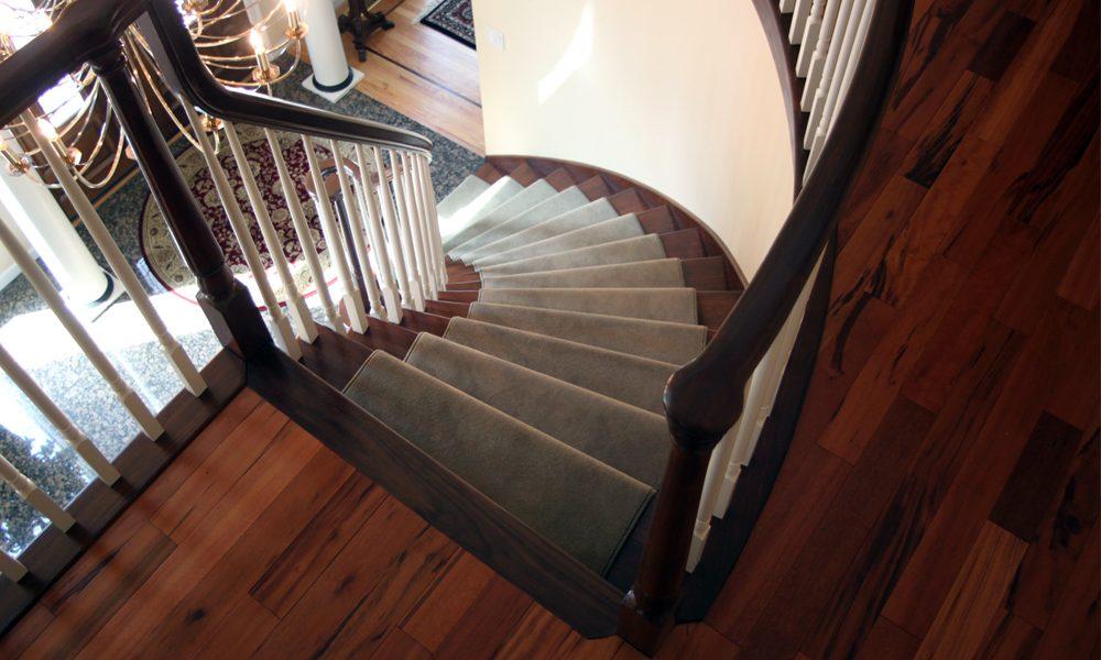 Carpetting on Stairway
