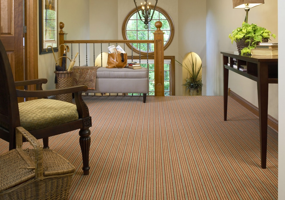 karastan_carpet_ jensen stripe hallway