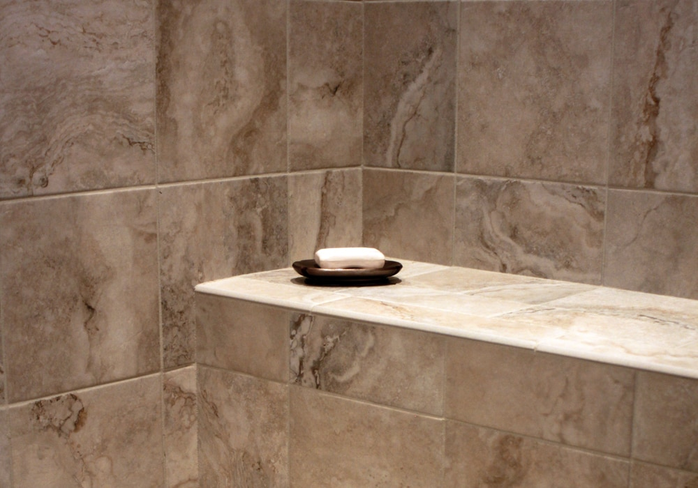 Porcelain Tile Shower Wall Dalene