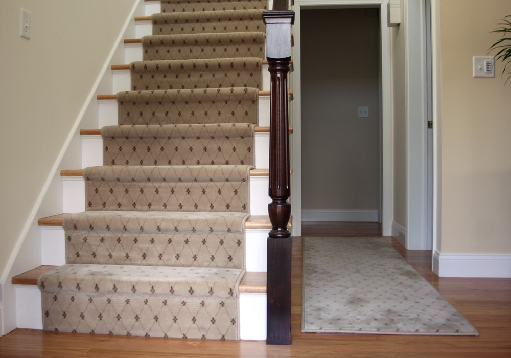 Wool Carpet Stair Runner