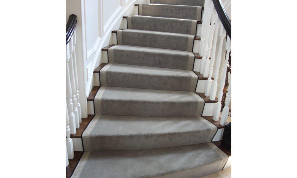 Wool and Sisal Carpet Stairrunner