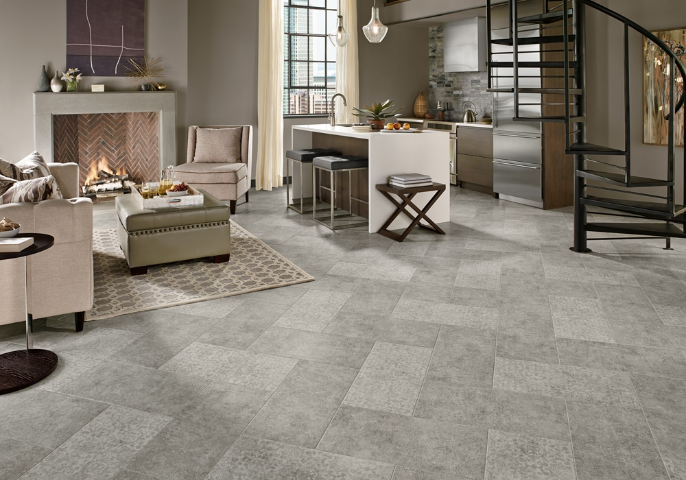 Armstrong Alterna Vinyl Whispered Essence Hint of Gray