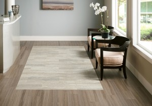 Armstrong Luxe Vinyl Dovetail Empire Walnut Flint Gray