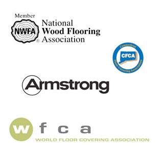Hardwood Credibility Logos