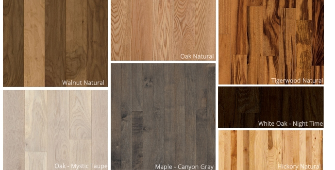 Hardwood Styles at Dalene Flooring