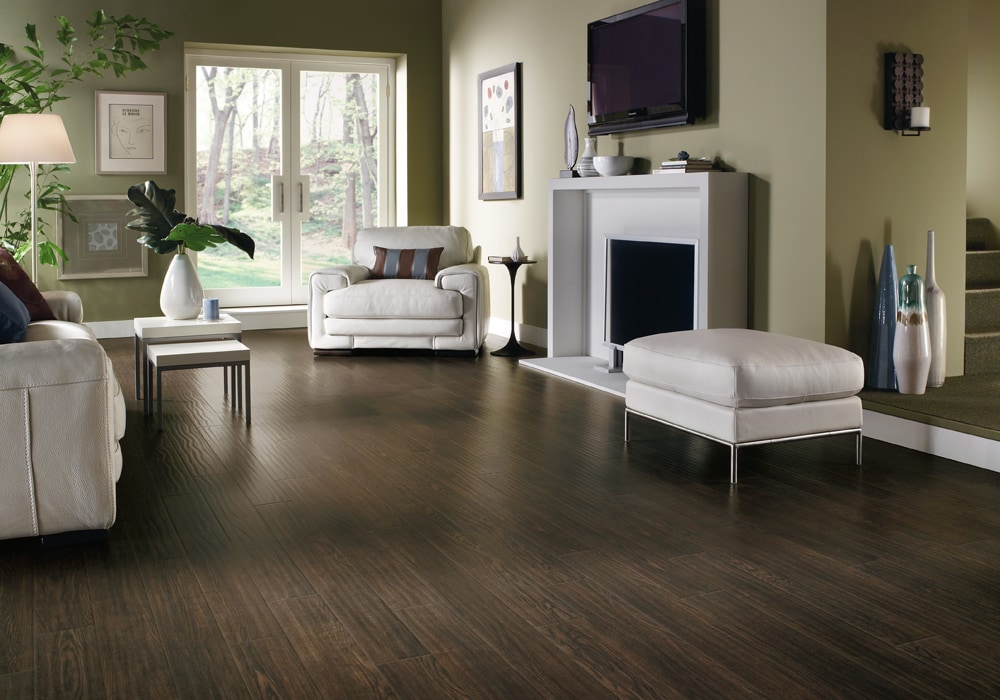 Armstrong Laminate Homestead Plank Prairie Brown