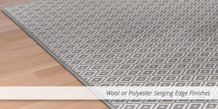 wool carpet binding