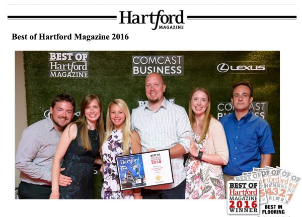 Best in Flooring 2016 Hartford Magazine Party