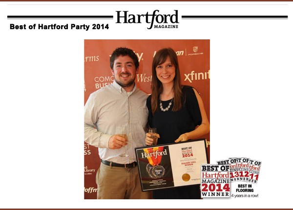 Voted Best in Flooring in 2014 by Hartford Magazine