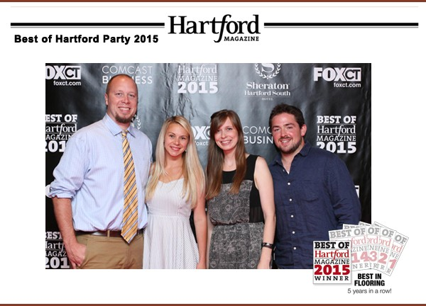 Best in Flooring by Hartford Magazine 2015
