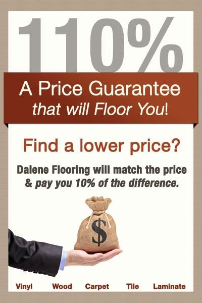 Price Match Guarantee Dalene Flooring