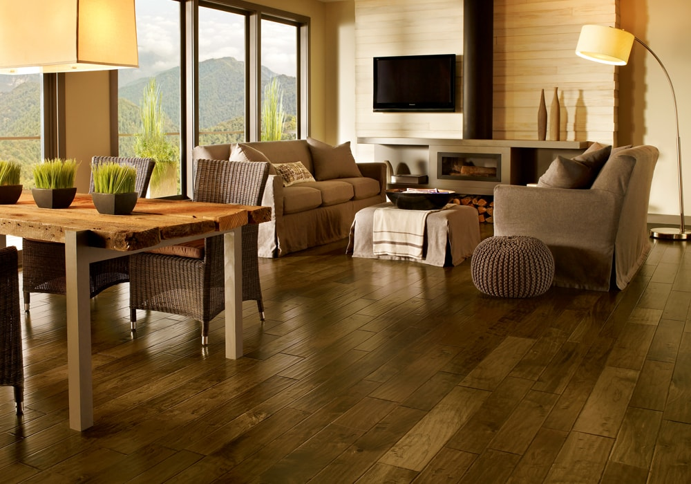 Armstrong walnut wood arteisan whisper brown