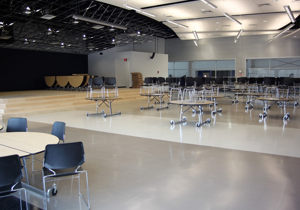 Flooring at Bolton, CT High School