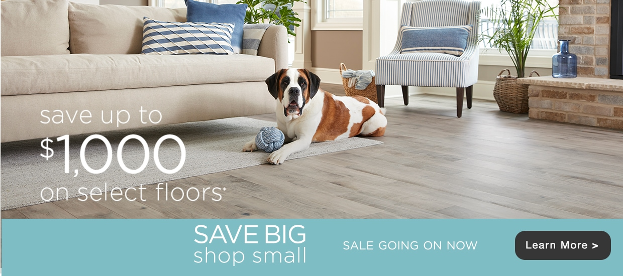 Save up to 1000 on Flooring